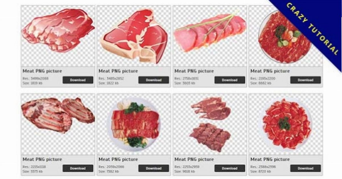 47 Meat PNG images are available for free download
