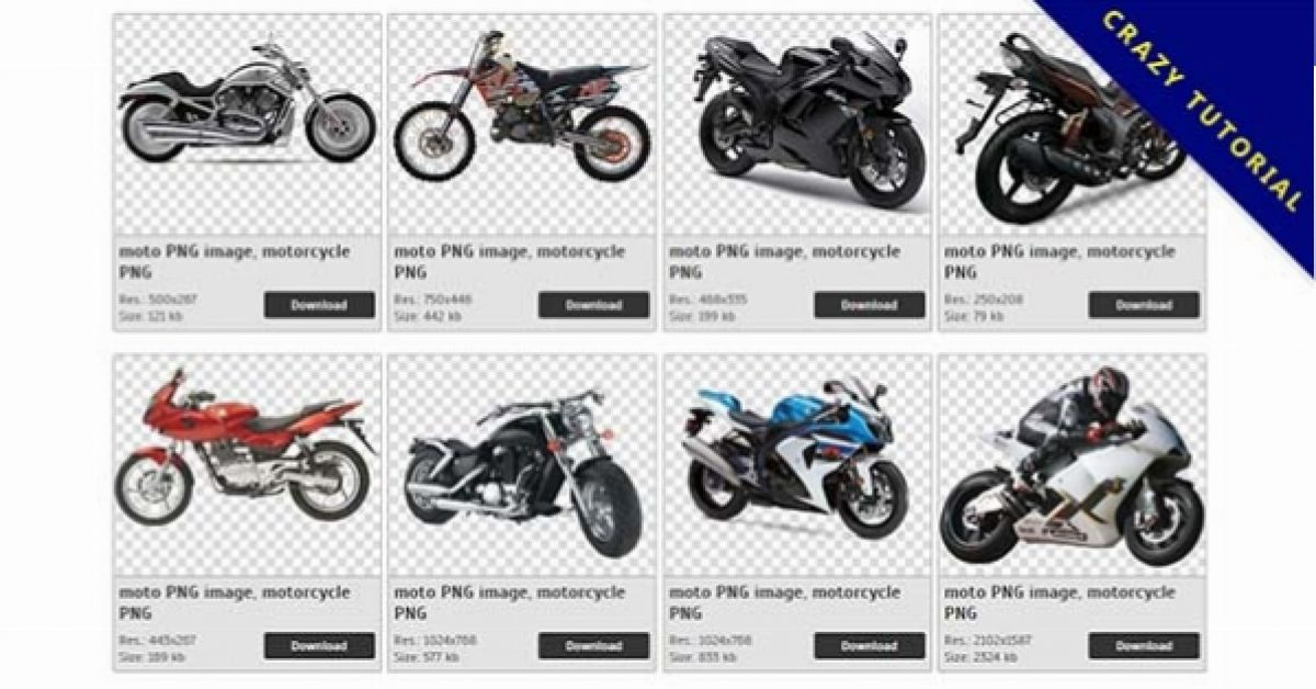53 Motorcycle PNG image is now available for free download