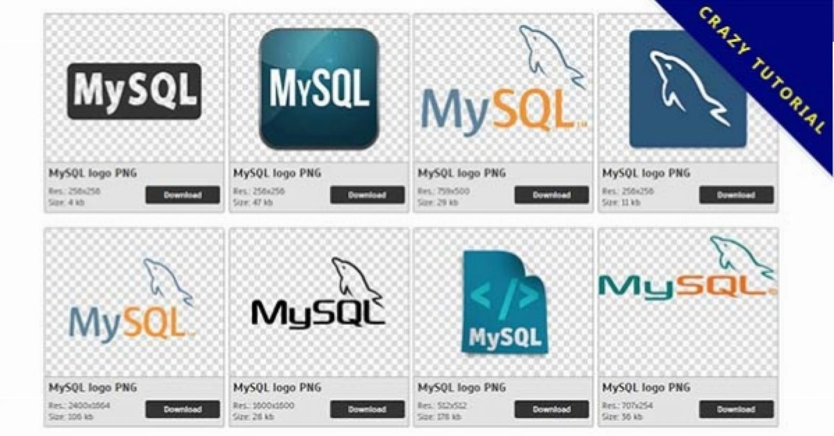39 MySQL logo PNG images are free to download
