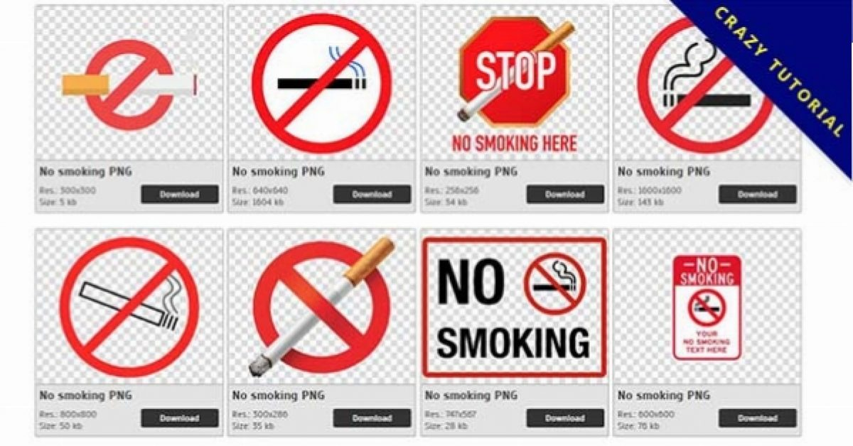 44 No smoking PNG images are free to download