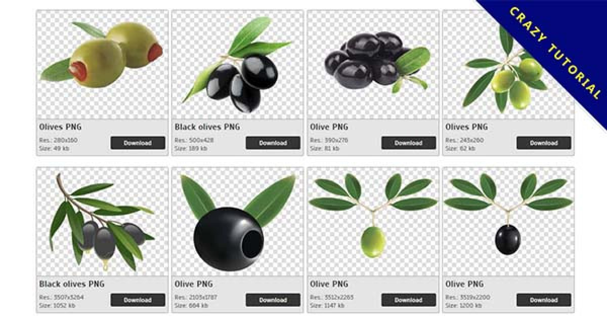 64 Olive PNG images free to download