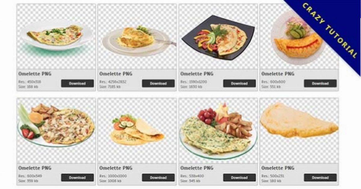 27 Omelette PNG image collection for free download