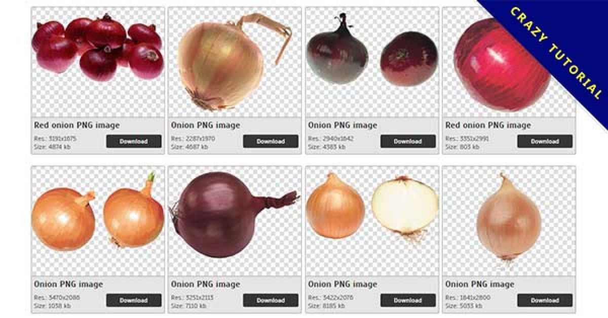 26 Onion PNG images are free to download