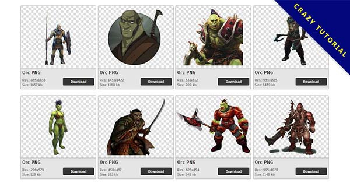 40 Orc PNG images for free download
