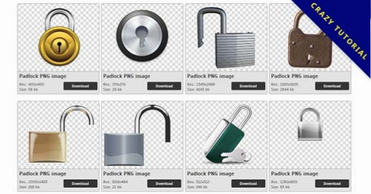 57 Padlock PNG images for free download