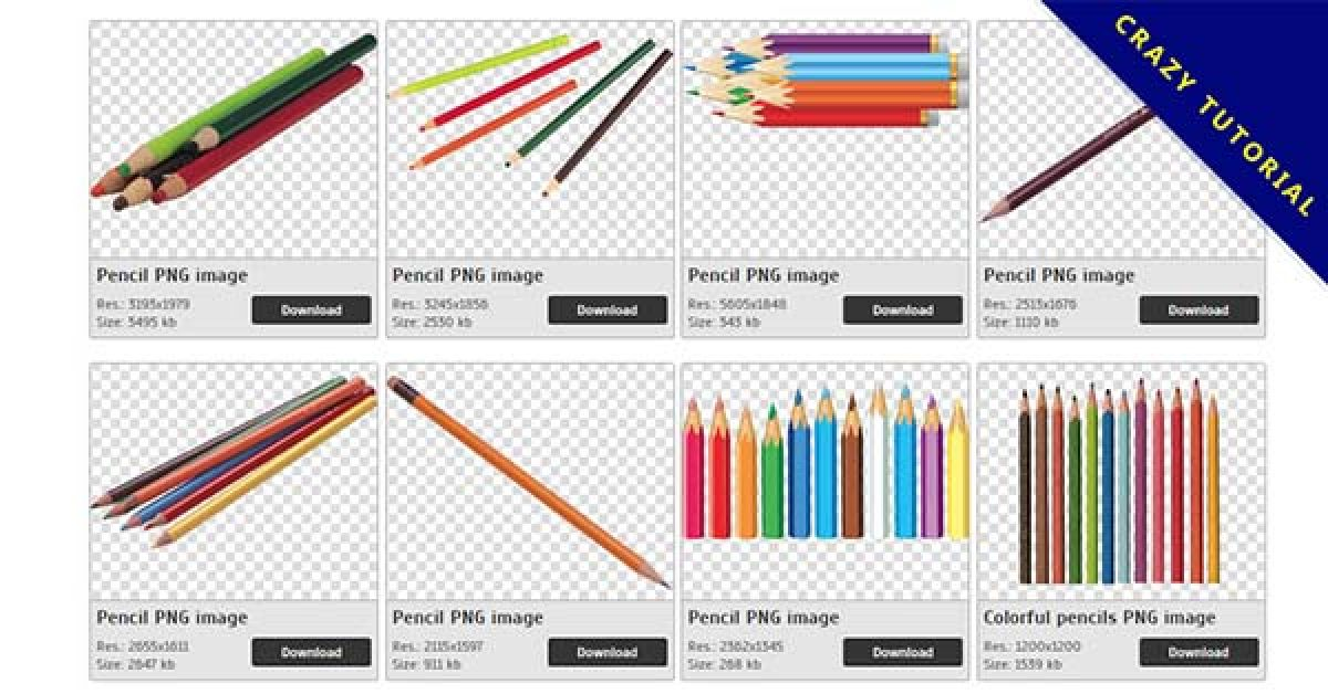 18 Pencil PNG image collection for free download