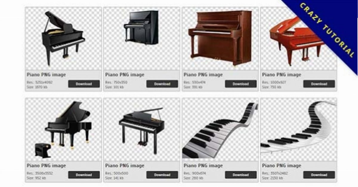 31 Piano PNG images for free download