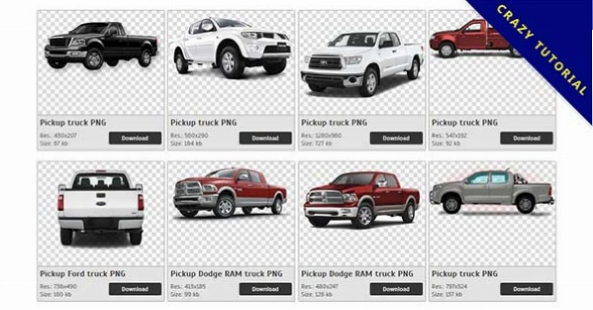 63 Pickup truck PNG images for free download