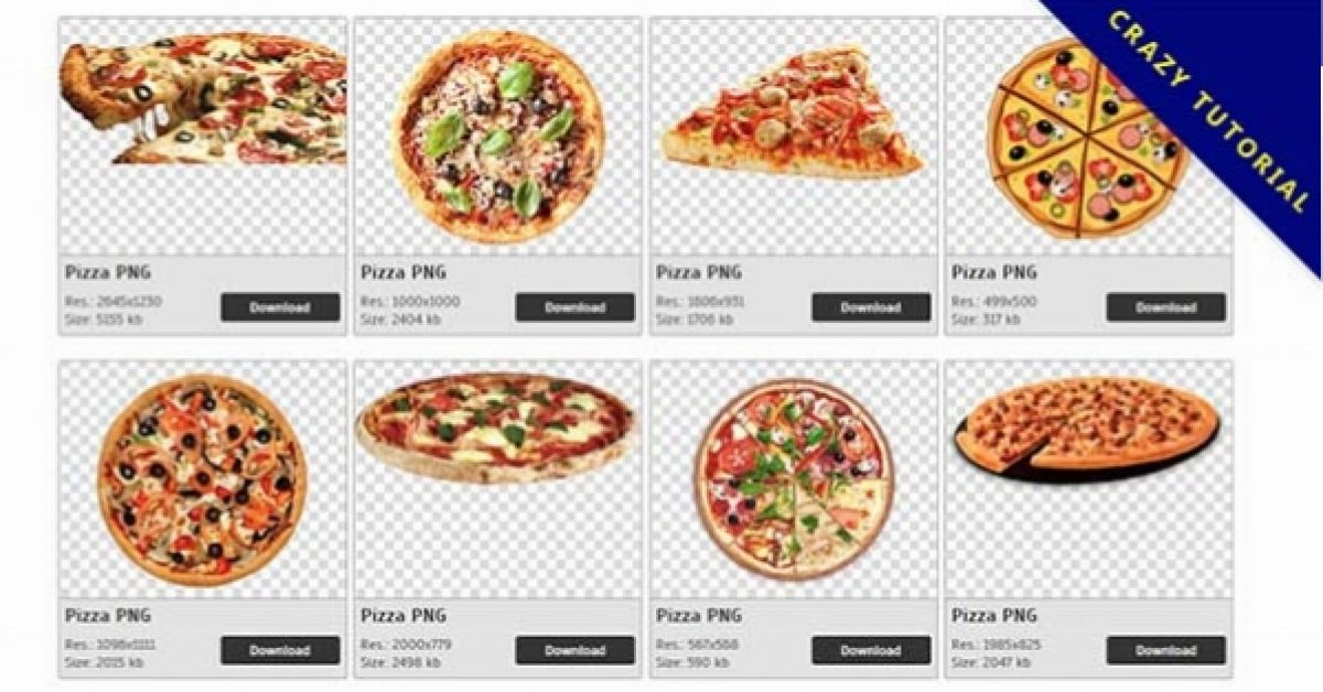183 Pizza PNG images are free to download