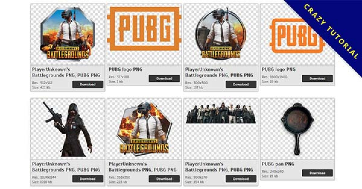 62 PlayerUnknown's Battlegrounds PNG image collection free to download