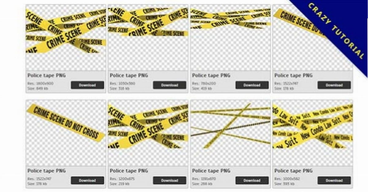 34 Police tape PNG images are free to download