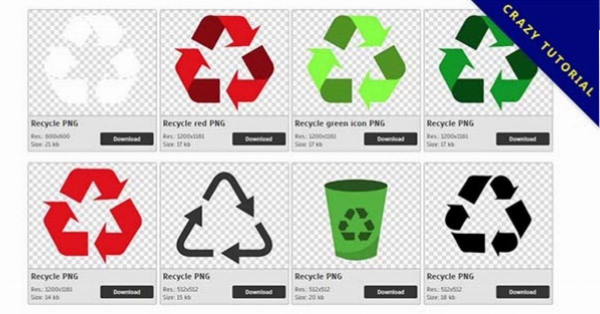 34 Recycle logo PNG images are free to download