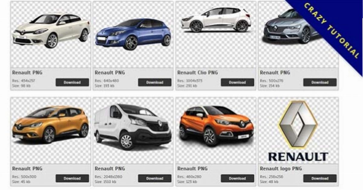 80 Renault PNG images for free download