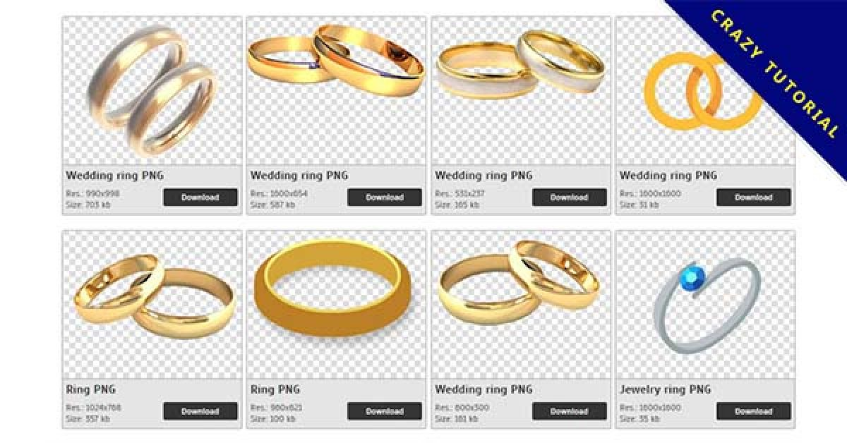 167 Ring PNG image collection for free download