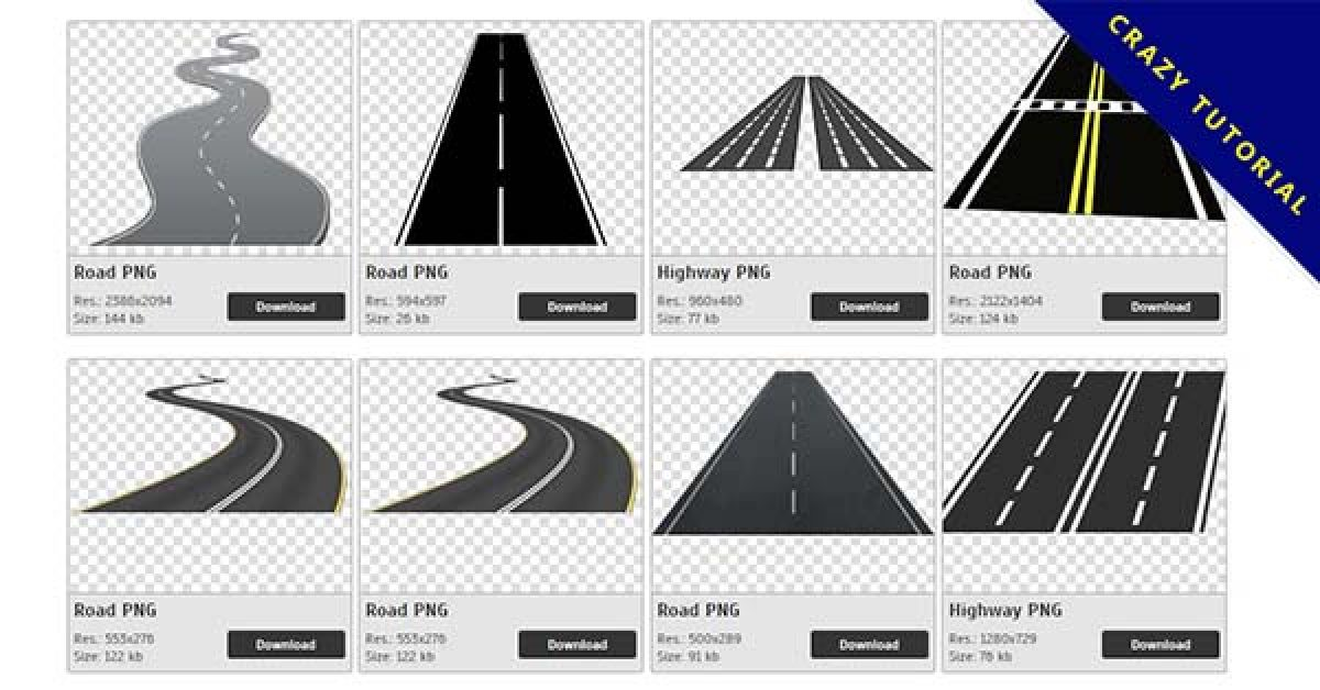 60 Road PNG images are free to download