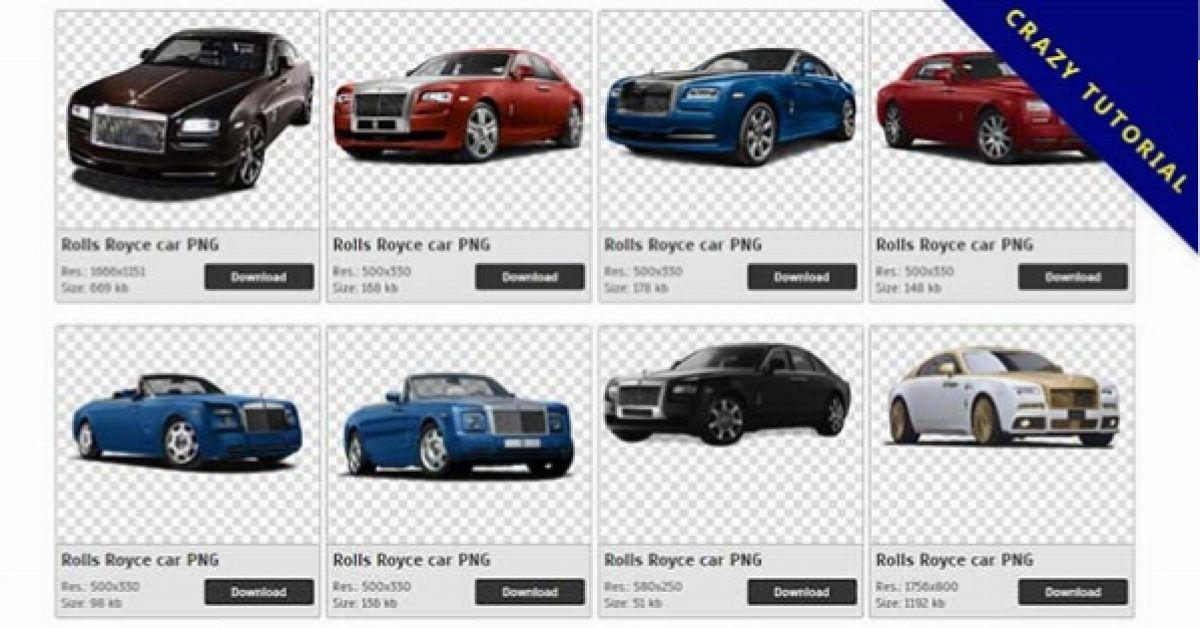57 Rolls Royce PNG images are available for free download
