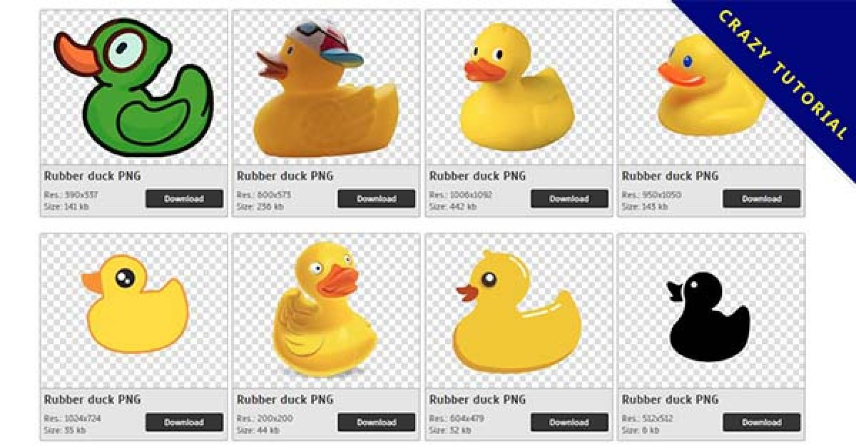 56 Rubber duck PNG images free download