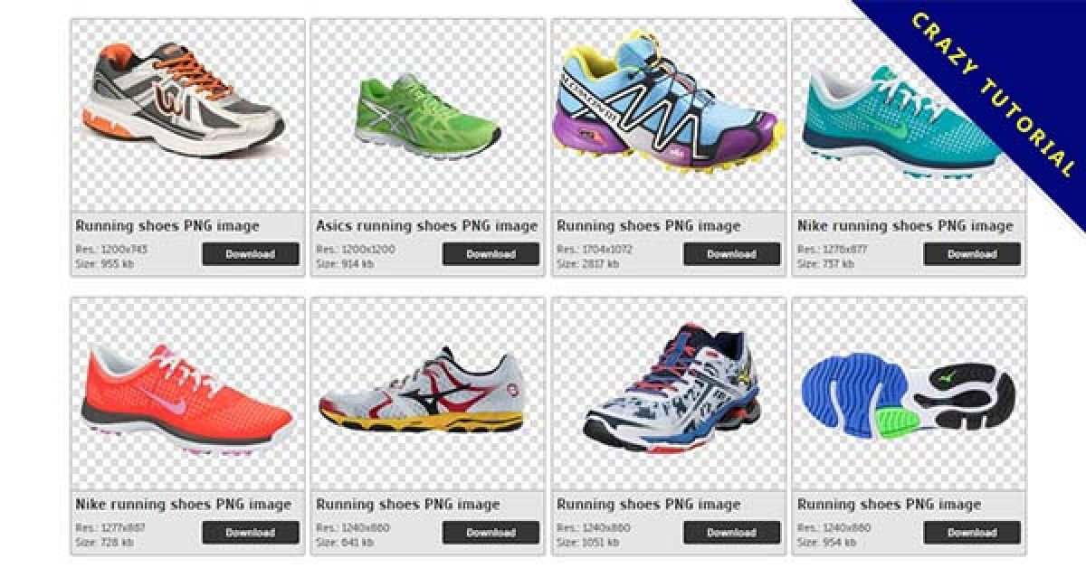 48 Running shoes PNG images are free to download