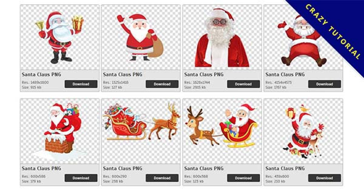 94 Santa Claus PNG image collection for free download