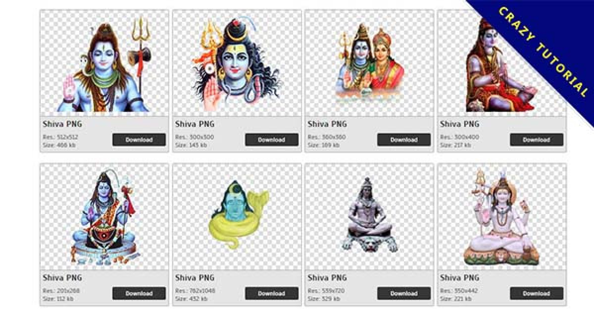 56 Shiva PNG image collection for free download
