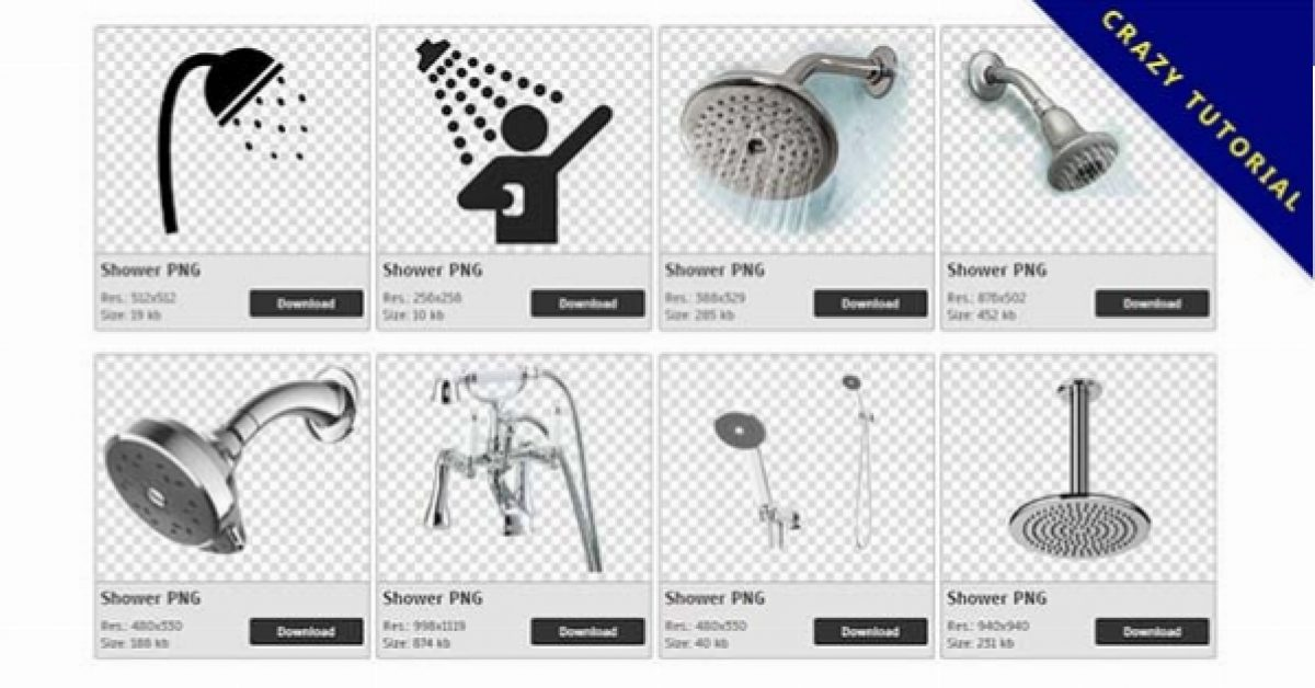 43 Shower PNG images are free to download