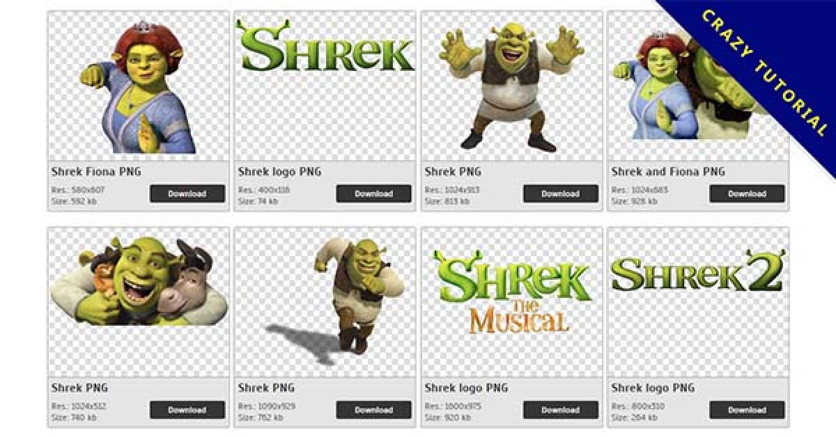 42 Shrek PNG images are free to download