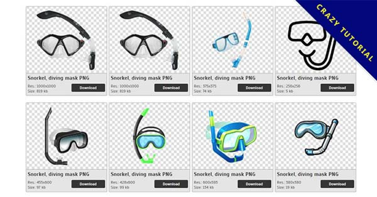 100 Snorkel PNG images are free to download