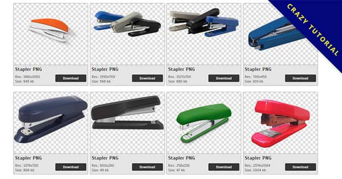 85 Stapler PNG image collection for free download