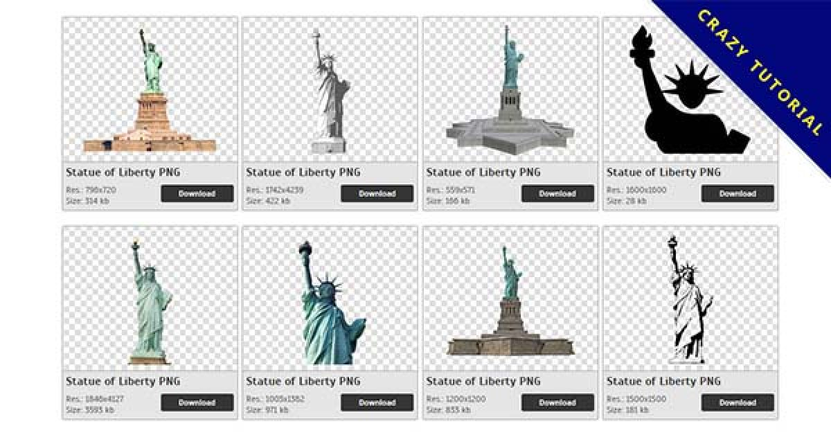 42 Statue of Liberty PNG images free to download