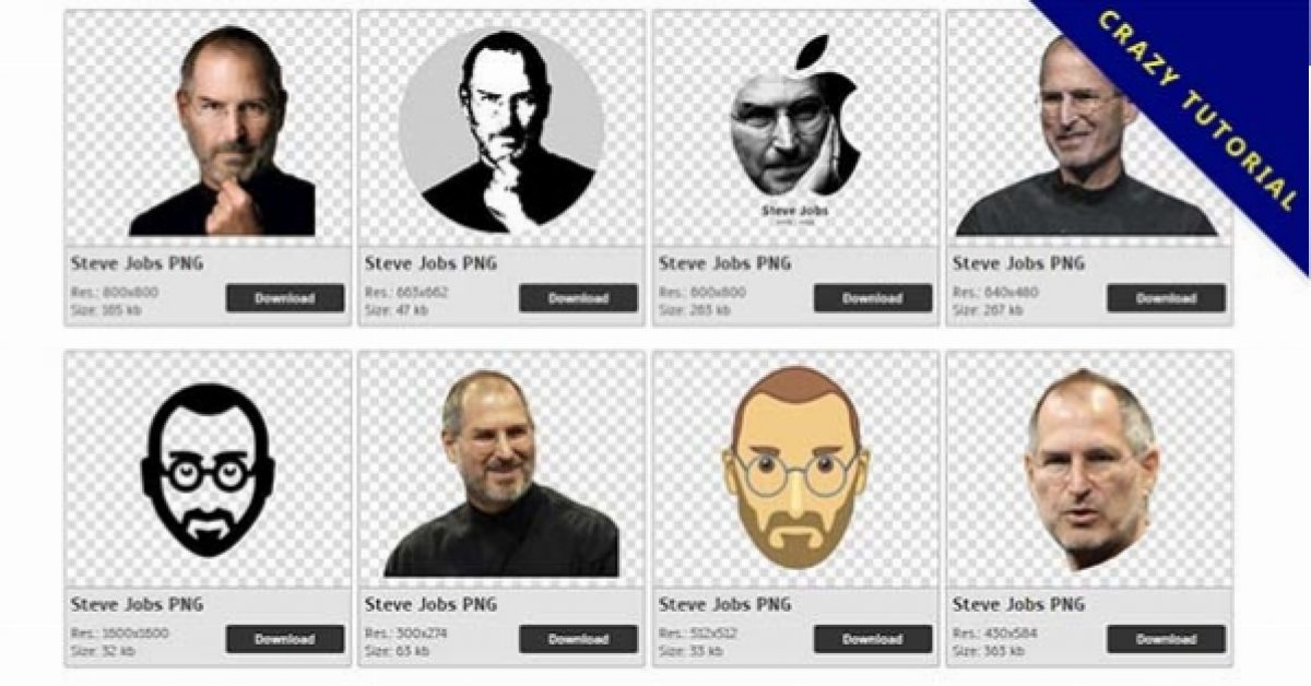 29 Steve Jobs PNG image collection for free download