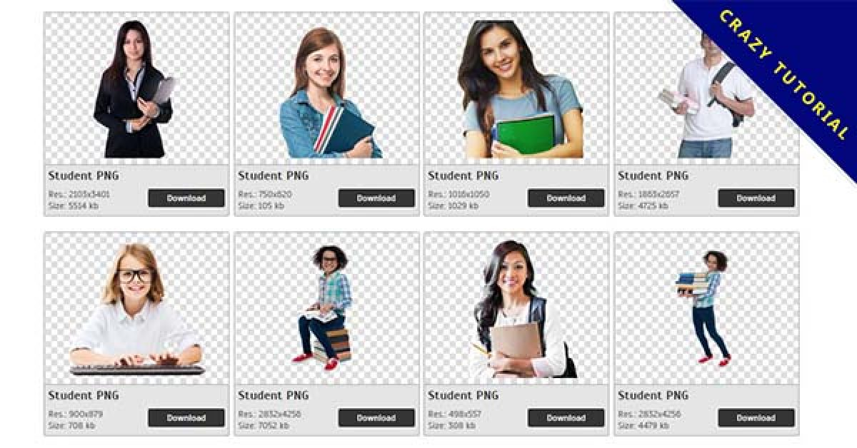 227 Student PNG image collections for free download
