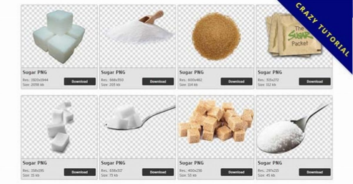 33 Sugar PNG images are free to download