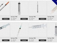 30 Syringe PNG image collections for free download