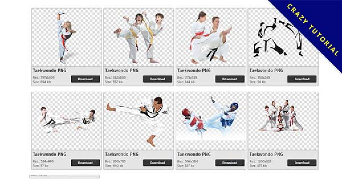 75 Taekwondo PNG images for free download