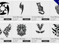 40 Tattoo PNG images for free download