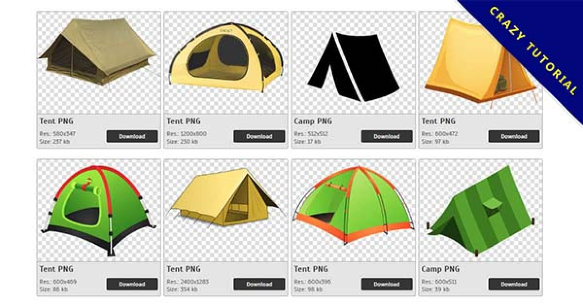 50 Tent PNG images free download