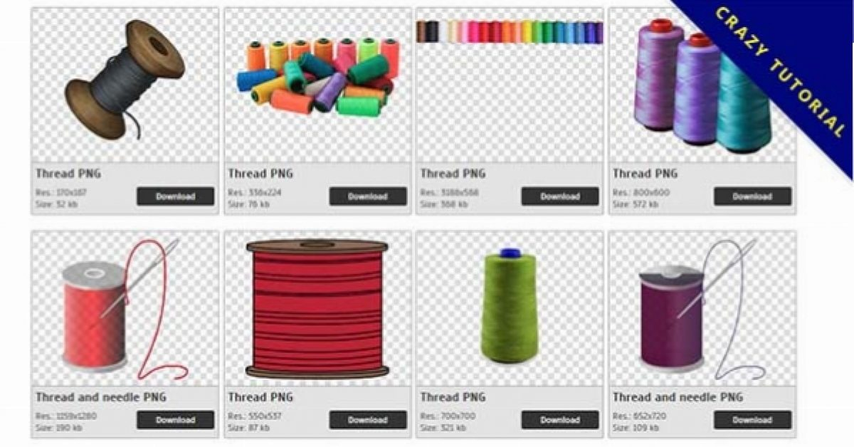 85 Thread PNG images are free to download