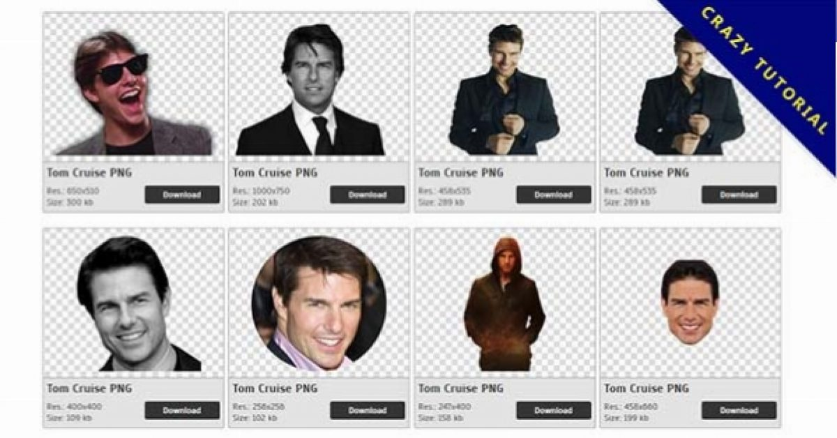 34 Tom Cruise PNG images for free download