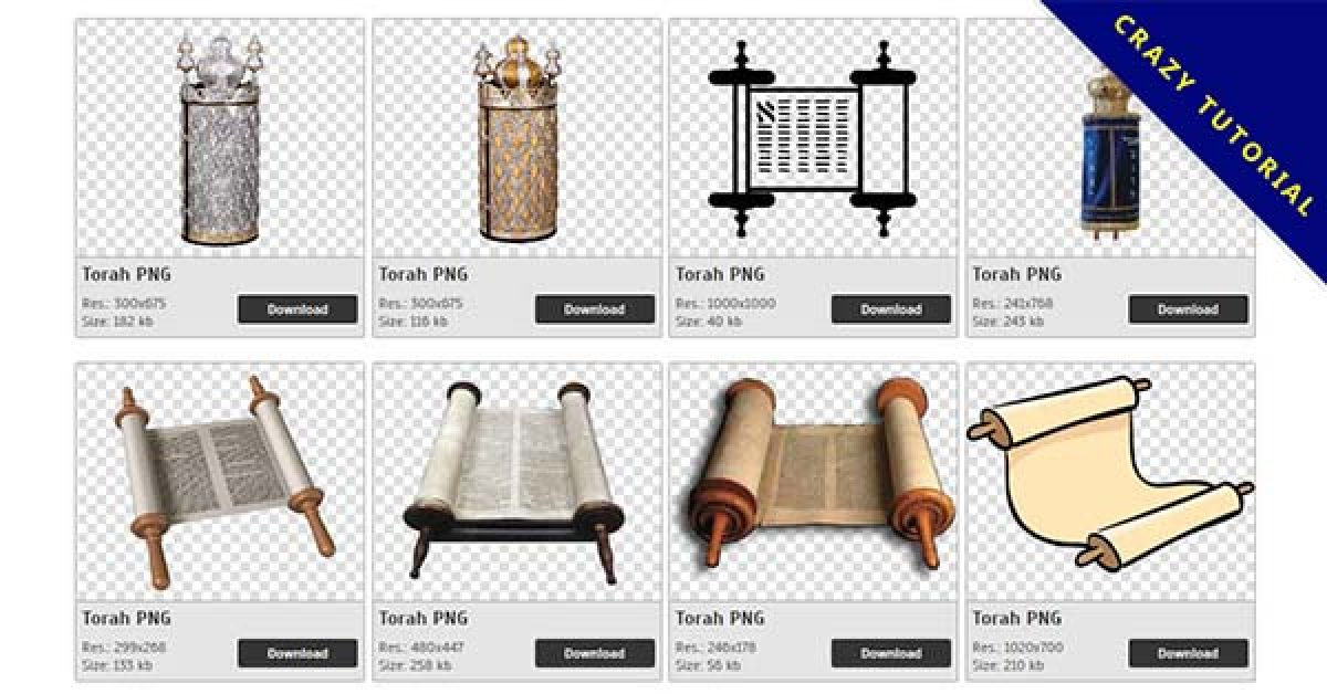66 Torah PNG images are free to download