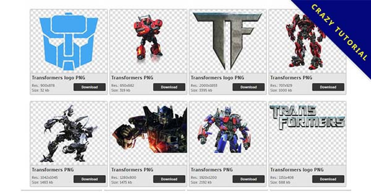 94 Transformers PNG images free download