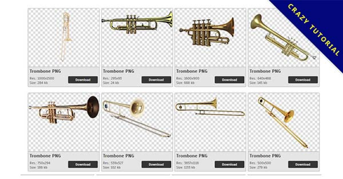 59 Trombone PNG image collection for free download