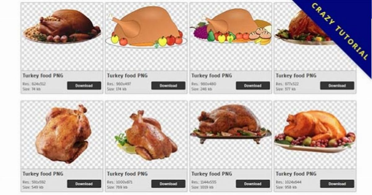 27 Turkey PNG image collection for free download