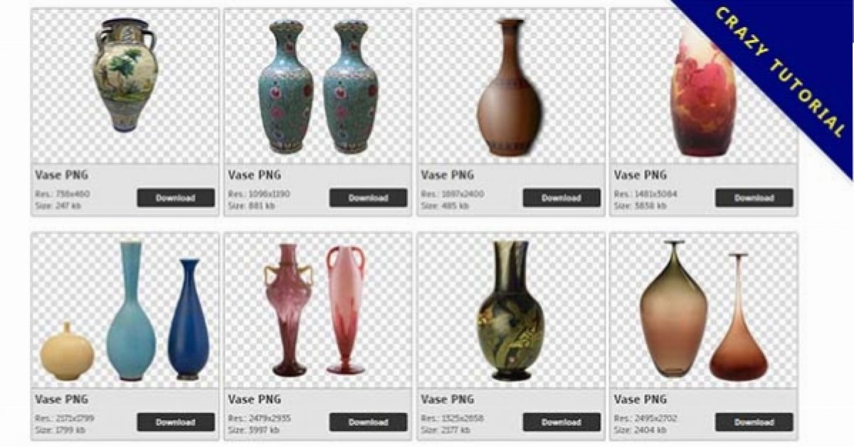 184 Vase PNG images are collected for free download