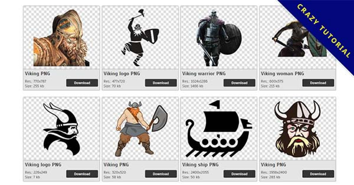 114 Viking PNG images are available for free download