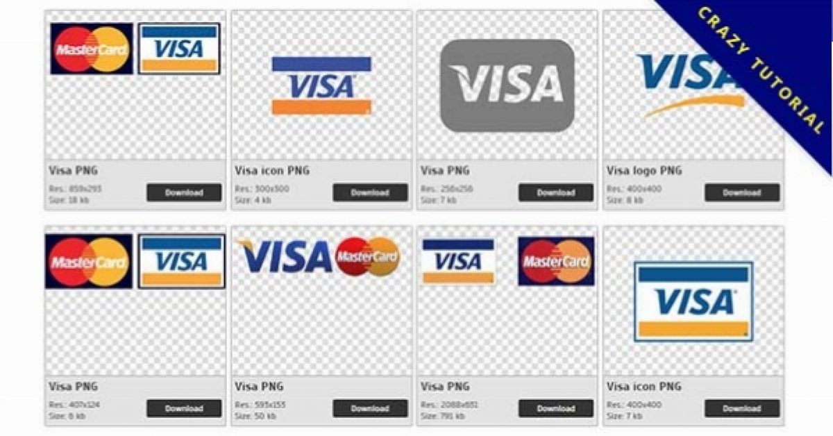 39 Visa logo PNG images are free to download