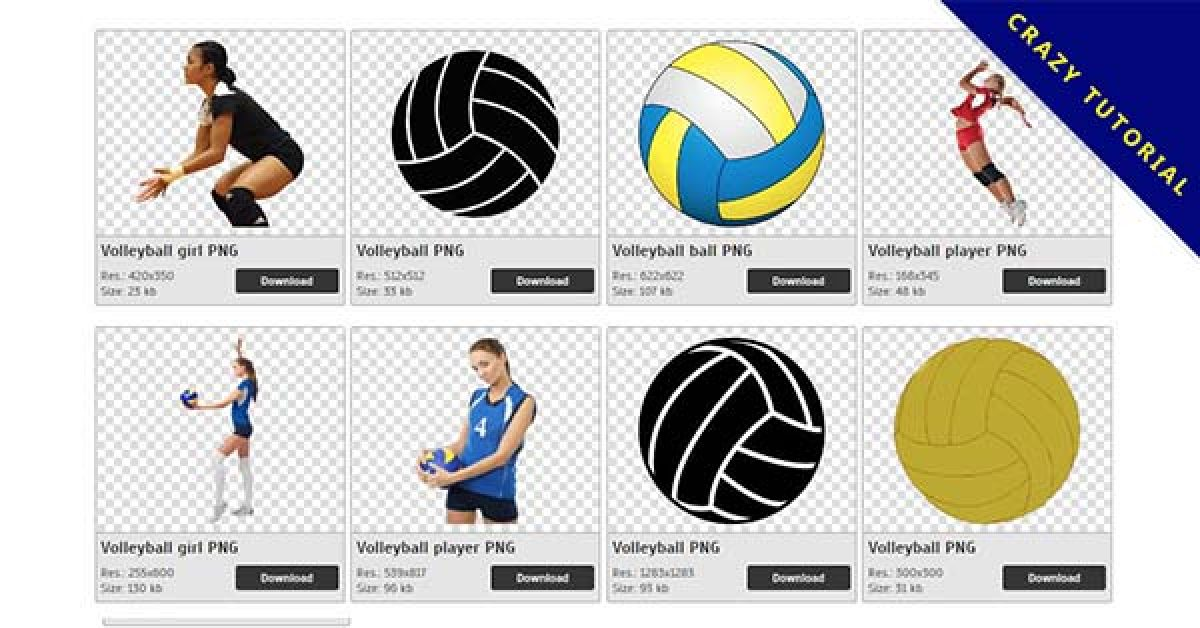 72 Volleyball PNG images free download