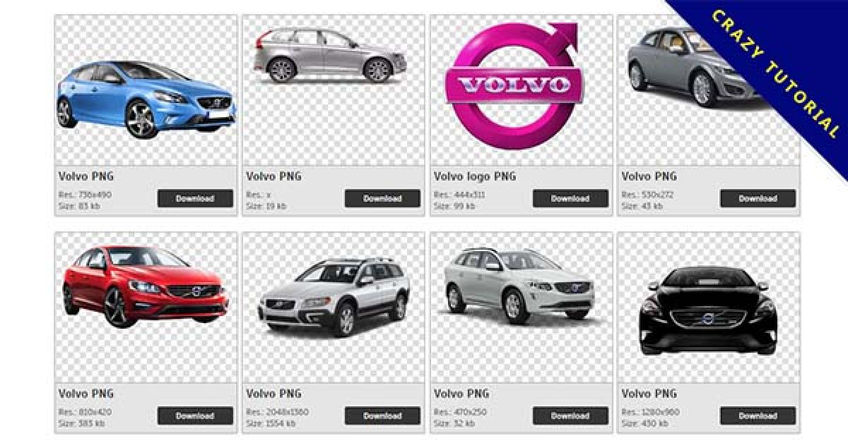 82 Volvo PNG images free to download