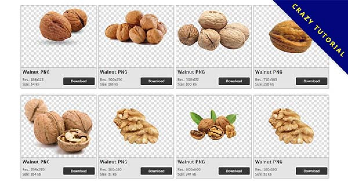 54 Walnut PNG images free to download