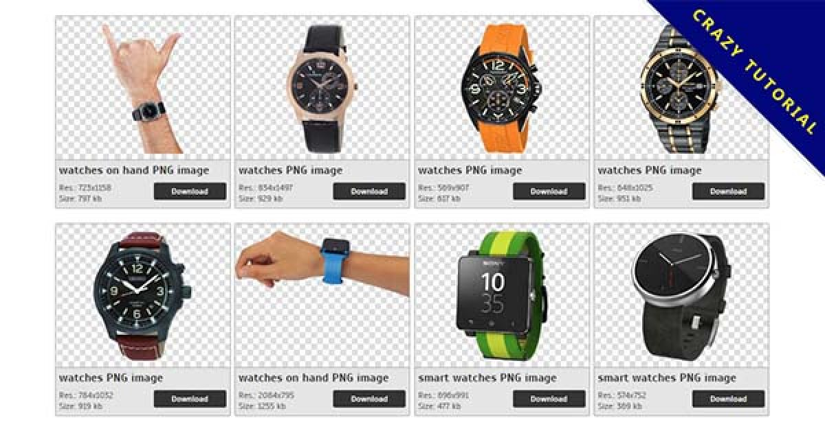 62 Watches PNG images Collect free downloads