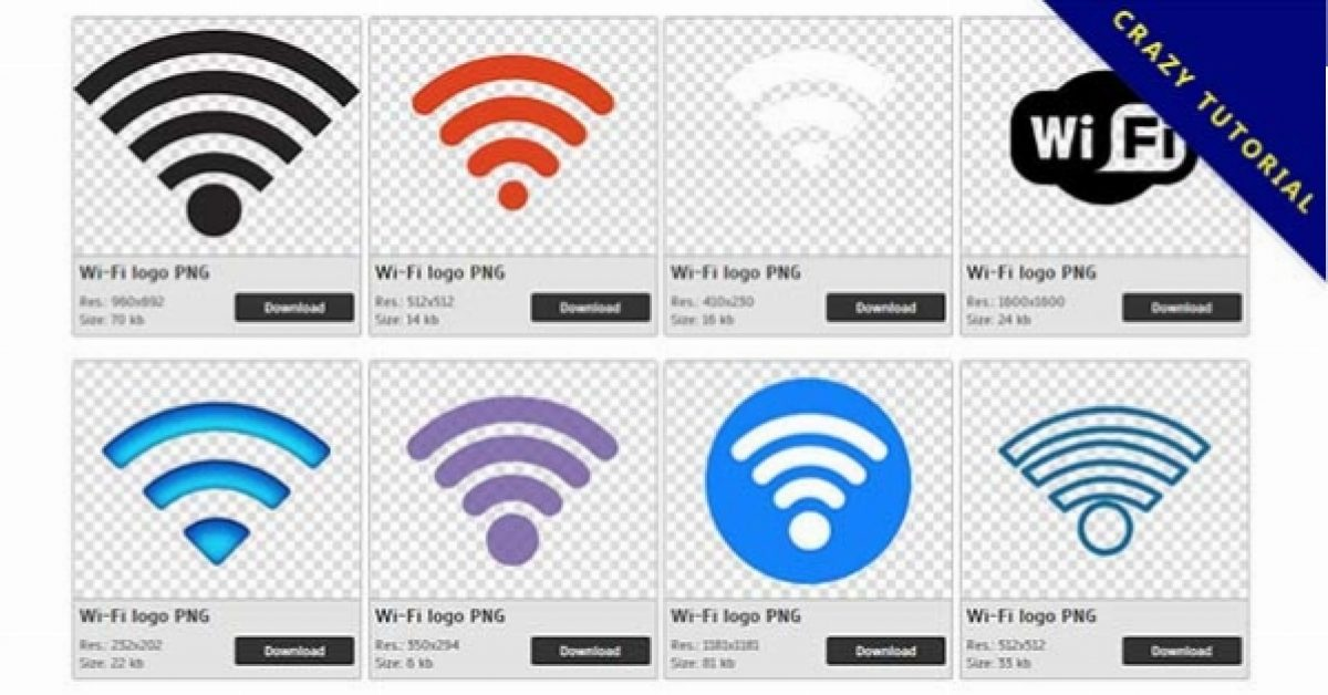 163 wi-fi logo PNG images are free to download